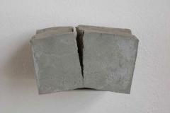Beton, Maße ca. 13 × 18 × 13 cm³, 2005