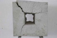 Beton, Maße ca. 42 × 42 × 15 cm³, 2005