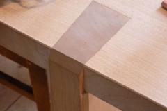 Detail einer Tischseite