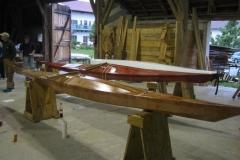 Die beschichteten Boote