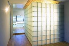 Glasbausteinwand Badezimmer Bruckdorfer