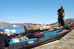 Kajakreise 2011 Grönland