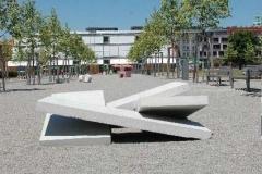 """""""Einstürzende Neubauten"""" Ausstellung Betonkunst, Fürth, 2005"""