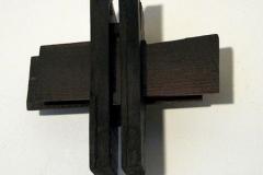 Speicher, Mooreiche, Maße ca. 35 × 35 × 18 cm³, 2007, € 1200.-