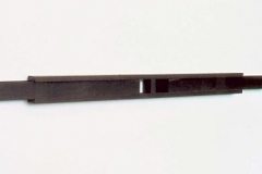 """""""Speicher"""", Wenge, Maße ca. 17 × 240 × 11 cm³, 2001"""